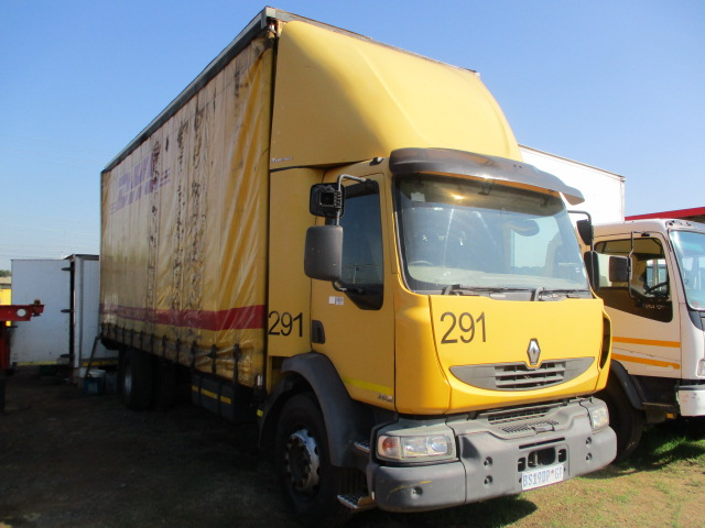 2012 RENAULT 280 DXI CURTAIN SIDE Image