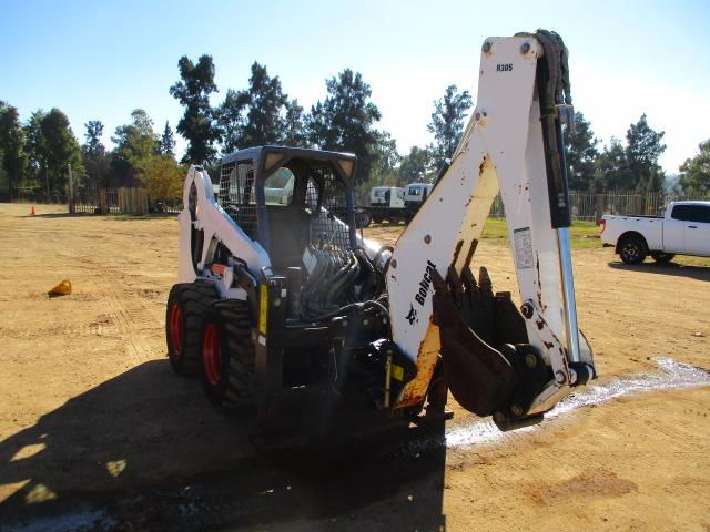 2008 BOBCAT S205 SKIDSTEER WITH BACKHOE ATTATCHMENT Image
