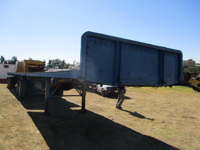 UNITRAILER SUPERLINK FLAT DECK TRAILER Image