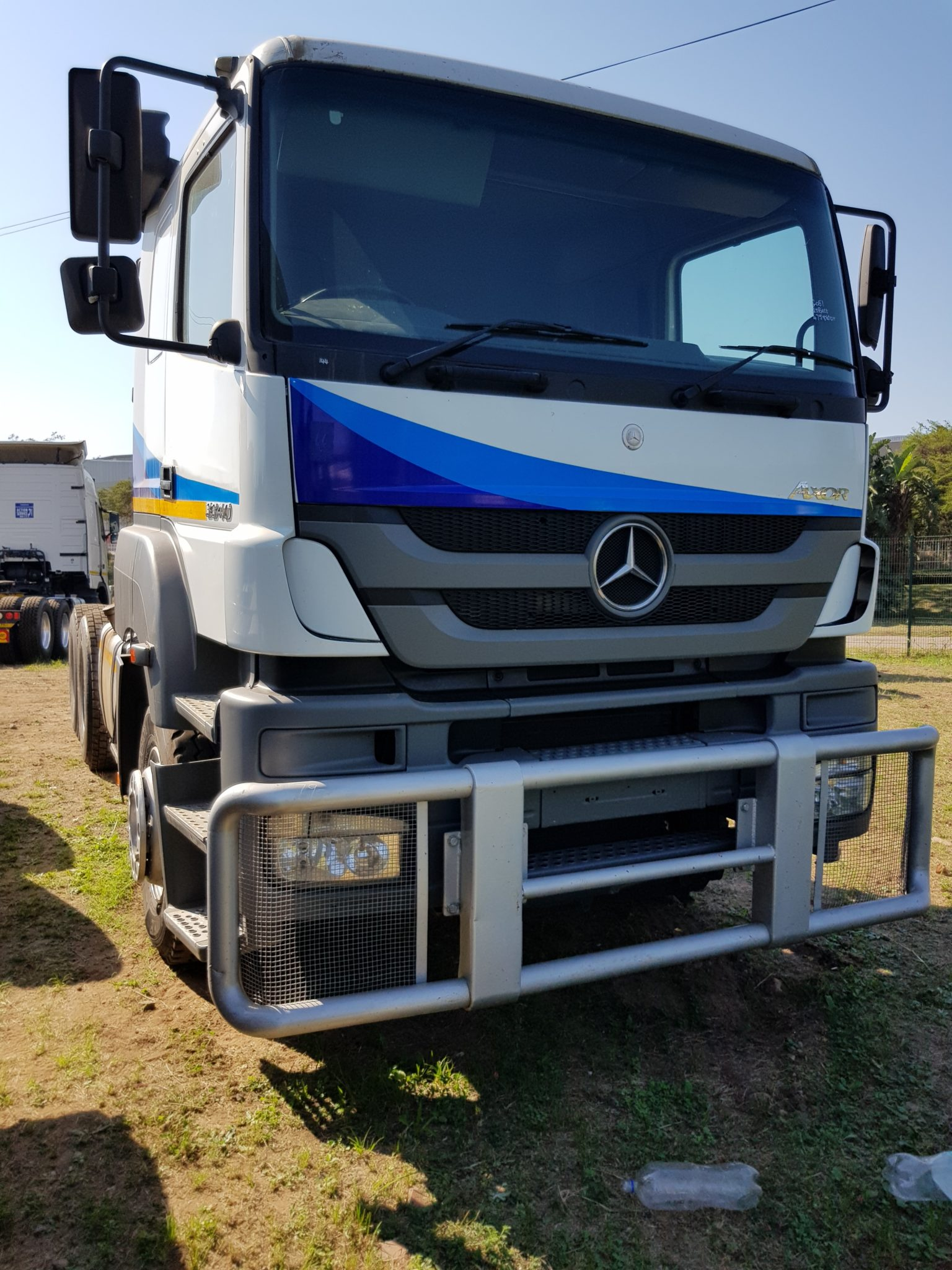 2008 MERCEDES BENZ AXOR 3340 6X4 MECHANICAL HORSE Image