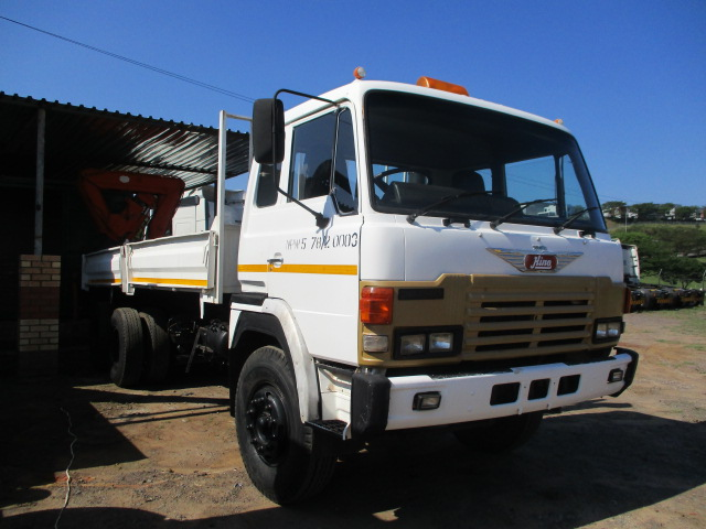 HINO 39-240 DROPSIDE WITH HYDRAULIC CRANE Image