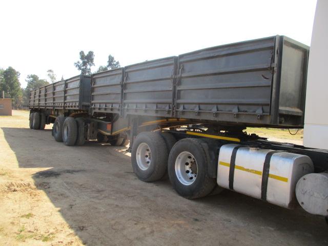 SA TRUCK BODIES INTERLINK DROPSIDE TRAILER Image