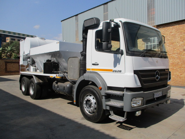 MERCEDES BENZ AXOR 2628 IMMERMAN VOLUMETRIC MIXER Image