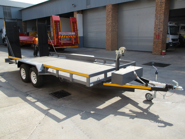 DOUBLE AXLE CAR CARRIER TRAILER Image