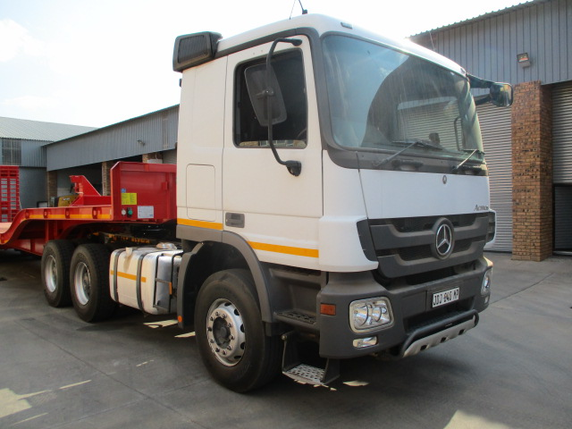 PR TRAILERS DOUBLE AXLE STEP DECK LOWBED TRAILER Image