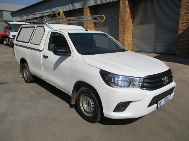 TOYOTA HILUX 2.4 GD6 SINGLE CAB WITH CANOPY Image