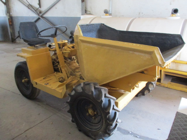 WINGET RIDE ON FRONT END DUMPER Image