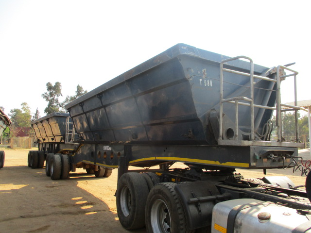 AFRIT INTERLINK SIDE TIPPER TRAILER Image