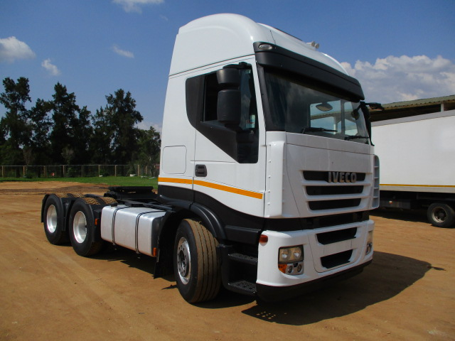 IVECO STRALIS 480 6X4 MECHANICAL HORSE Image
